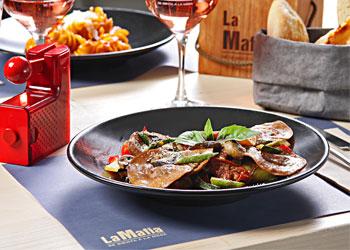 donde comer en Málaga - comida italiana