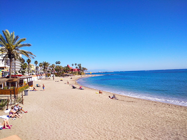 Playa de Bil Bil Benalmádena