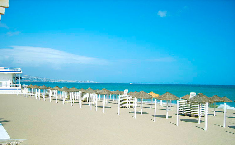 Playa de El Carvajal Fuengirola