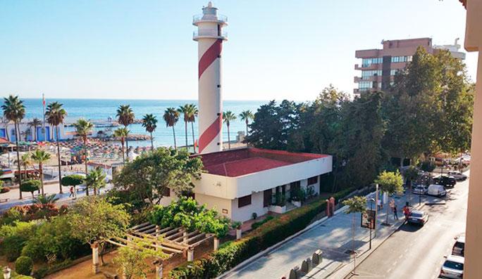 Playa de El Faro Marbella