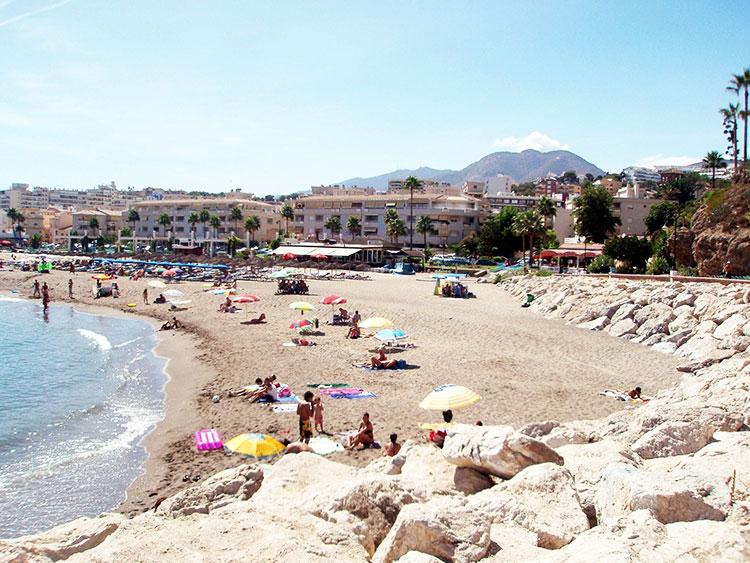Playa de la Carihuela Torremolinos