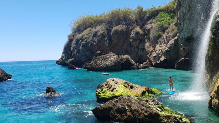 Mejores playas Málaga Oriental