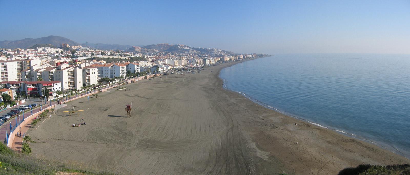 Playa del Rincón de la Victoria Málaga