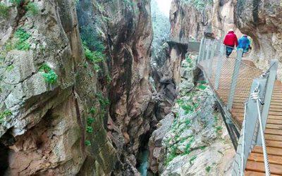 Caminito del Rey, pure adrenaline over the gorge