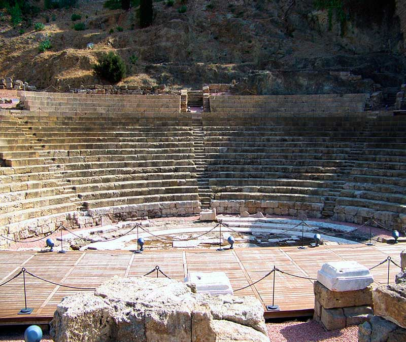 teatro romano de malaga