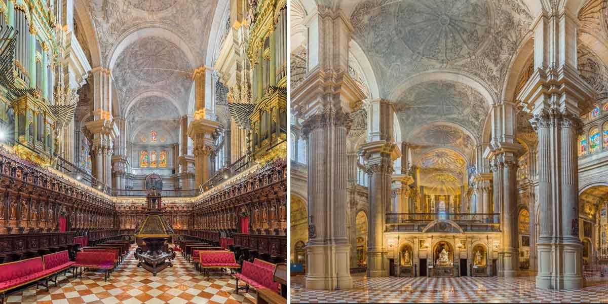 Catedral de Malaga interior - Malaka Turismo