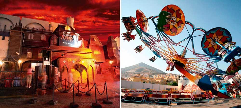 Parques de atracciones Malaga-Malaka Turismo