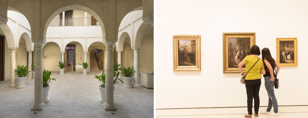 museos en Málaga - museums in malaga -Museo Carmen Thyssen - Malaka Turismo